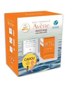 Avene Fluid Spf 50 X 50 ml + Apa Termala 150 ml