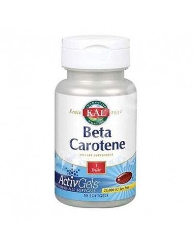 Beta Carotene 25000 UI x 50 cps moi