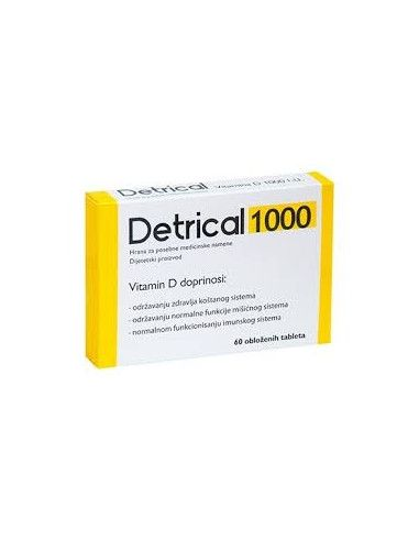 Zdrovit Detrical x 60 de comprimate filmate