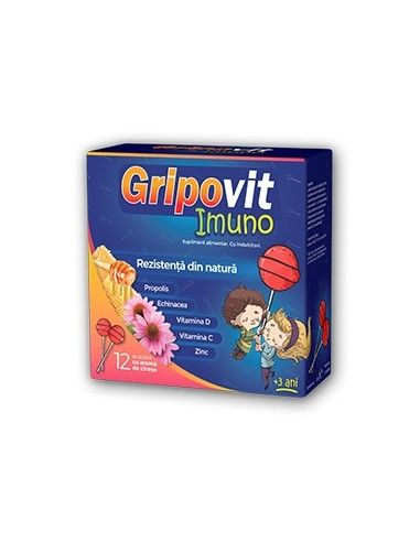 Gripovit Imuno 12 Acadele Zdrovit