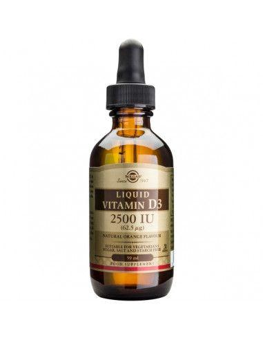 Vitamina D3 2500 IU x 59 ml Solgar