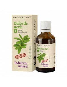 Dacia Plant Dulce de stevie Indulcitor x 50 ml