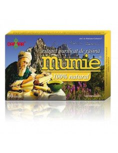 Extract purificat de rasina de mumie 100% natural X 60 tb