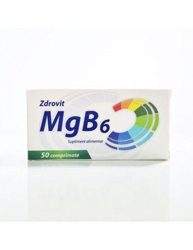 Zdrovit Magneziu + B6 x 50 comprimate
