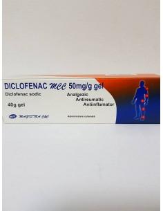 Diclofenac Mcc 50 mg/ 1g gel 40 g Magistra