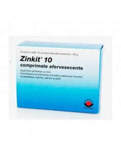 Zinkit 10 mg x 20 comprimate efervescente