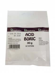 Acid Boric x 30 g Uz Extern