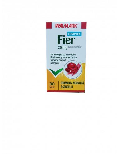 Walmark Complex fier 20 mg, 30 tablete