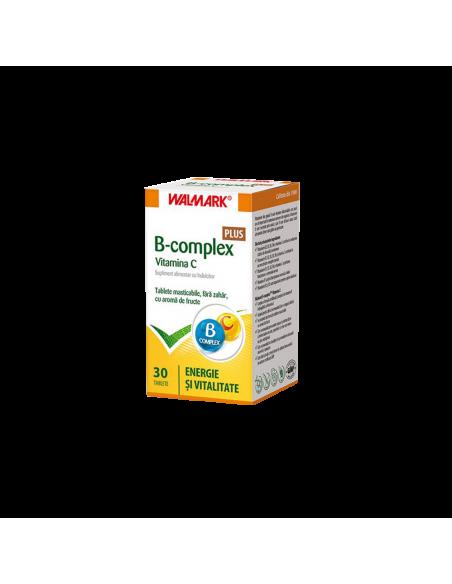 Walmark B Complex + Vitamina C x 30 tablete