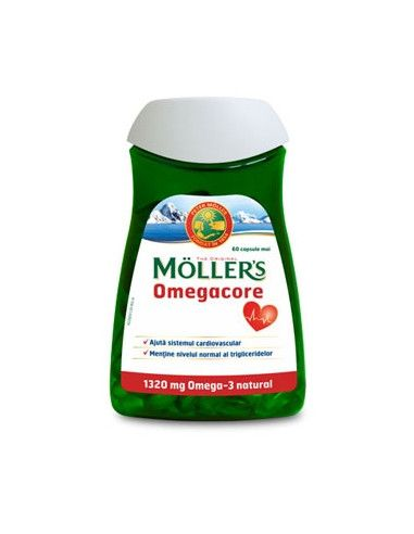 Moller's Omegacore 1320 mg, x 60 capsule
