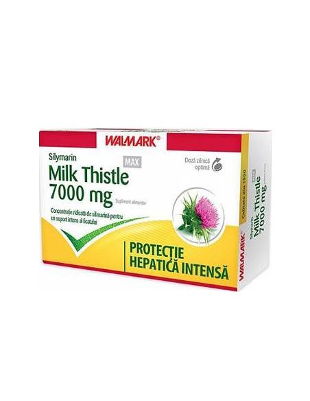 Walmark Silymarin Milk Thistle 7000 mg, x 60 cpr