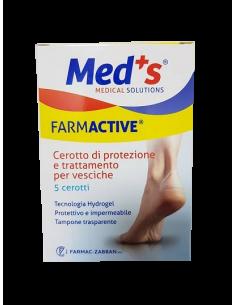 Farmactive pansament cu hydrogel oval pentru vezicule si rosaturi