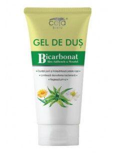 CETA Gel de dus cu Bicarbonat, Aloe, Galbenele si Musetel200 ml
