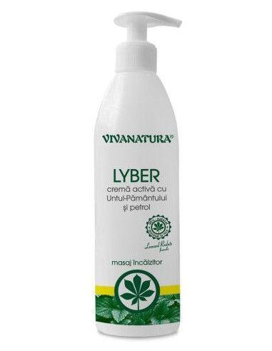 Vivanatura Lyber crema activa cu untul pamantului si petrol 500ml