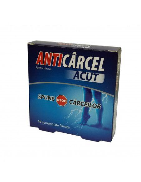 Zdrovit Anticarcel Acut x 10 comprimate filmate