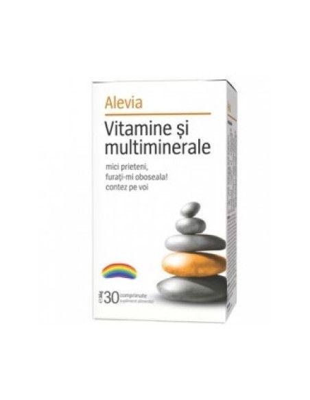 Vitamine si multiminerale Alevia x 30 cpr