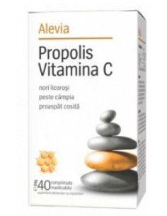 Propolis Vitamina C Alevia - 40 cpr