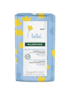 Klorane Bebe sapun delicat ultra-bogat, 250g