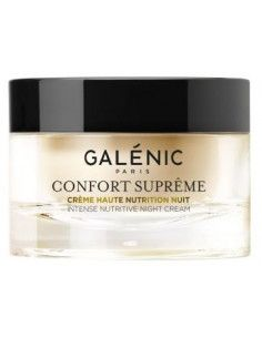 Galenic Confort Supreme Crema nutritiva de noapte 50 ml - Ideală pentru pielea uscată, cu senzații de iritație și disconfort.