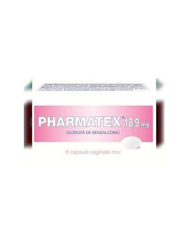 Pharmatex 18,9mg x 6 ovule