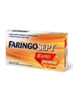 Faringosept Rapid Portocala x 12 pastile