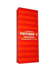 Postinor2  1 blister x 2 comprimate