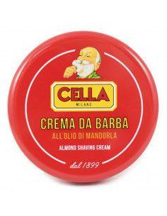 CELLA Milano Crema de barbierit cu ulei de migdale x 150 ml