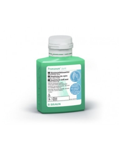 B BRAUN Promanum Pure Dezinfectant alcoolic pentru dezinfectia igienica si chirurgicala a mainilor