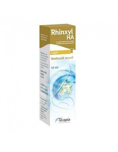 Rhinxyl 0,5mg/ml x 10 ml picături nazale