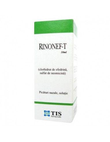 Rinonef-T x 10ml picături nazale