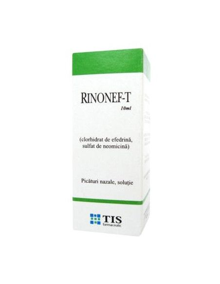 Rinonef-T x 10ml picaturi nazale (Tis)
