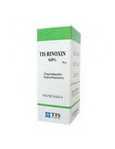 Rinoxin 0,25mg/ml x 10ml picaturi nazale (Tis)