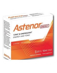 Astenor Energy cu indulcitori 20 fiole x 10 ml