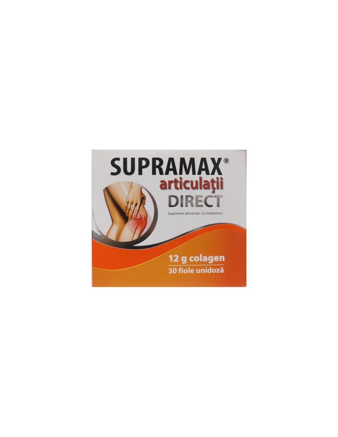 Zdrovit Supramax Articulatii Direct 12 g colagen, 10 fiole