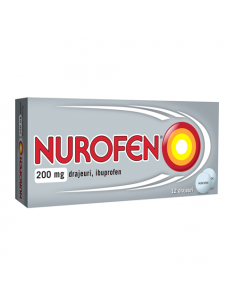 Nurofen 200 mg drajeuri ibuprofen x 12 drajeuri