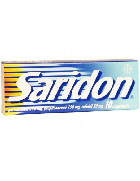 Saridon x 10 comprimate