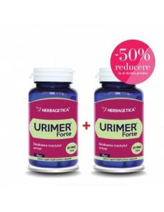 Herbagetica Urimer forte 30 capsule + al doilea la 50% Reducere