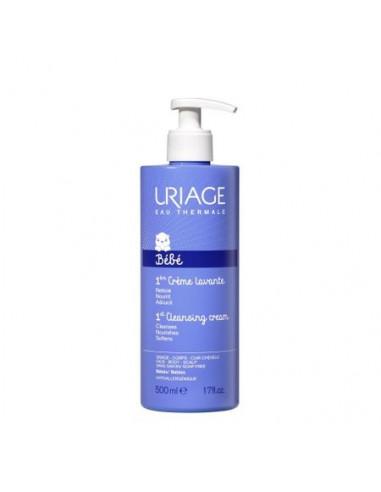 Uriage 1-er Bebe Crema de curatare x 500 ml + CADOU Pachet servetele umede de curatare cu apa termala x 70