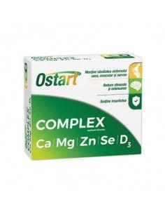 Ostart Complex Ca+Mg+Zn+Se+D3   20cpr