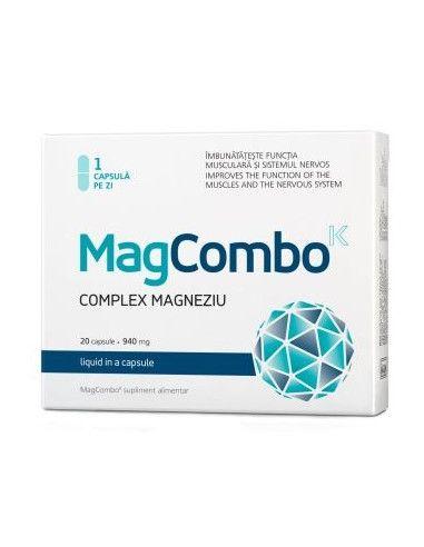 MagCombo Complex magneziu x 20 cps