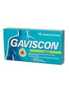 Gaviscon Mentol Comprimate Masticabile x 16cpr