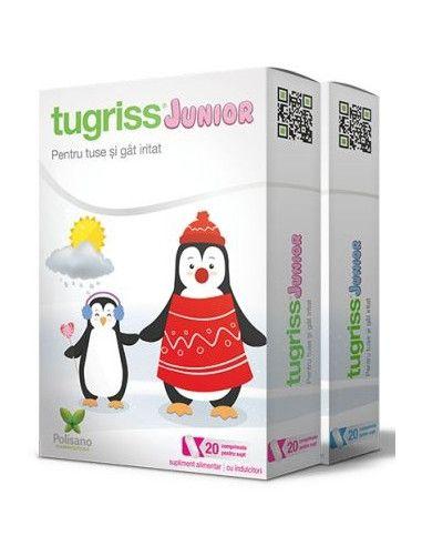 Tugriss Junior x 20cpr pentru supt