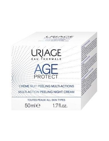 Uriage Eau Thermale Age Protect Crema de noapte Peeling Multi-Action 30ml
