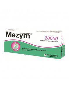 Mezym 20000 20 comprimate