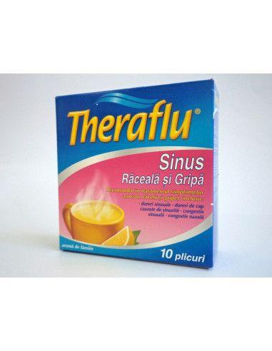 Theraflu Sinus Răceală şi Gripă x 10 plicuri