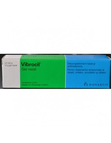 Vibrocil x 12g gel nazal