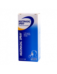 Muconasal 1,18mg/ml spray...