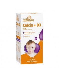 Alinan Calciu + Vitamina D3...