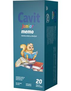 Cavit Junior Memo 20 tablete