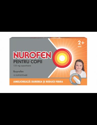 Nurofen pentru copii 125 mg 10...